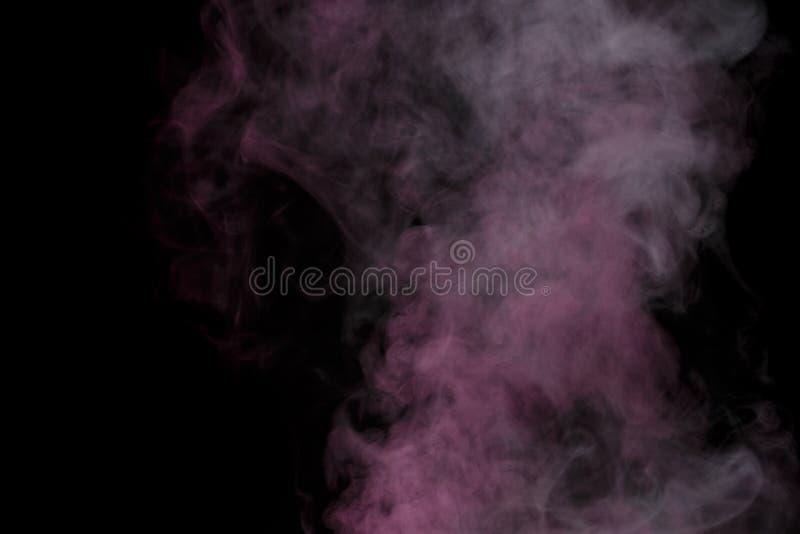 Purple water vapor royalty free stock photography