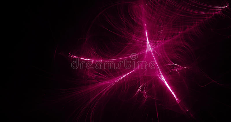 Purple And White Abstract Lines Curves Particles Background royalty free illustration