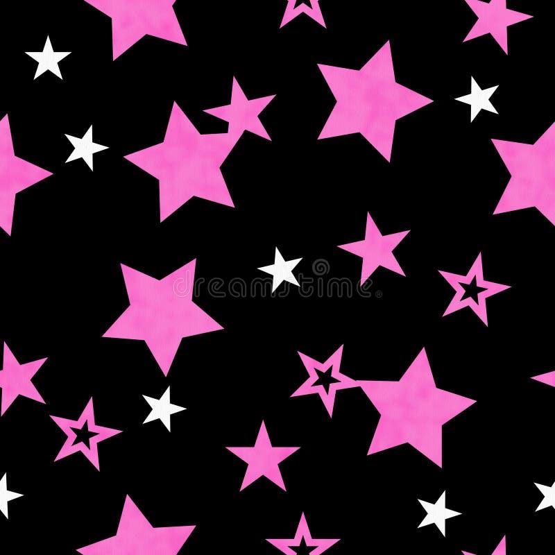 Download Purple, White And Black Star Fabric Background Stock Illustration - Illustration: 27925282