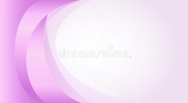 Purple and white colored bending lines professional background, template design 2. Useful for web banner and poster design vector illustration