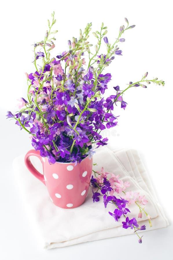 Purple Wild Flowers Royalty Free Stock Photo