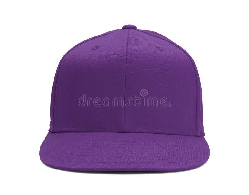 Purpple Baseball Hat royalty free stock image