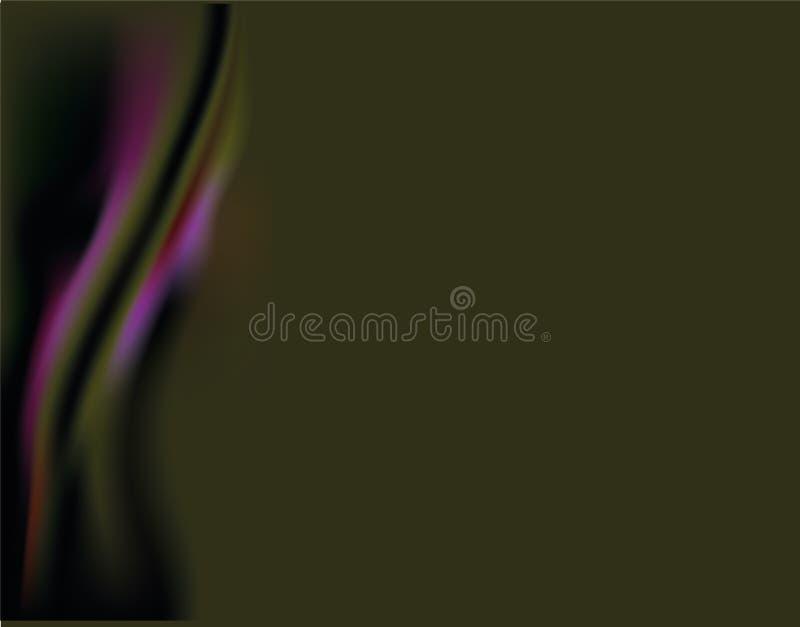 Purpur, Hintergrund, Grün, Zusammenfassung, Illustration, Kunst, modern, hell, Element, Töne, Fantasie, Licht, Beschaffenheit, Ve lizenzfreie abbildung