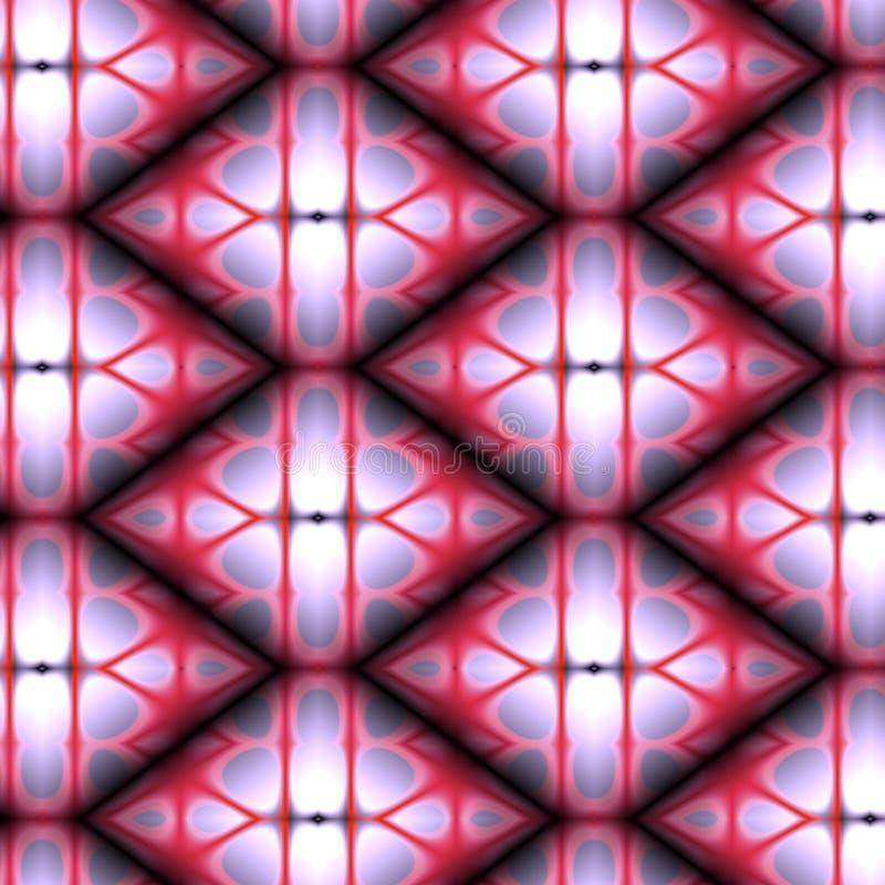 purpur röd formad tegelplatta för bakgrundsdiamant vektor illustrationer