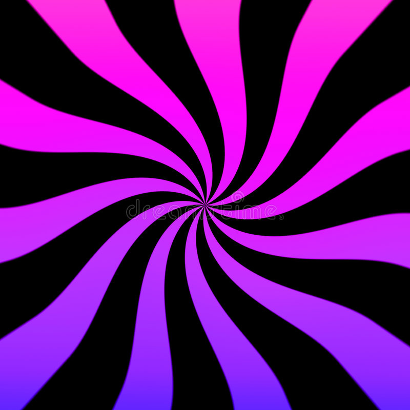 purpur swirl vektor illustrationer