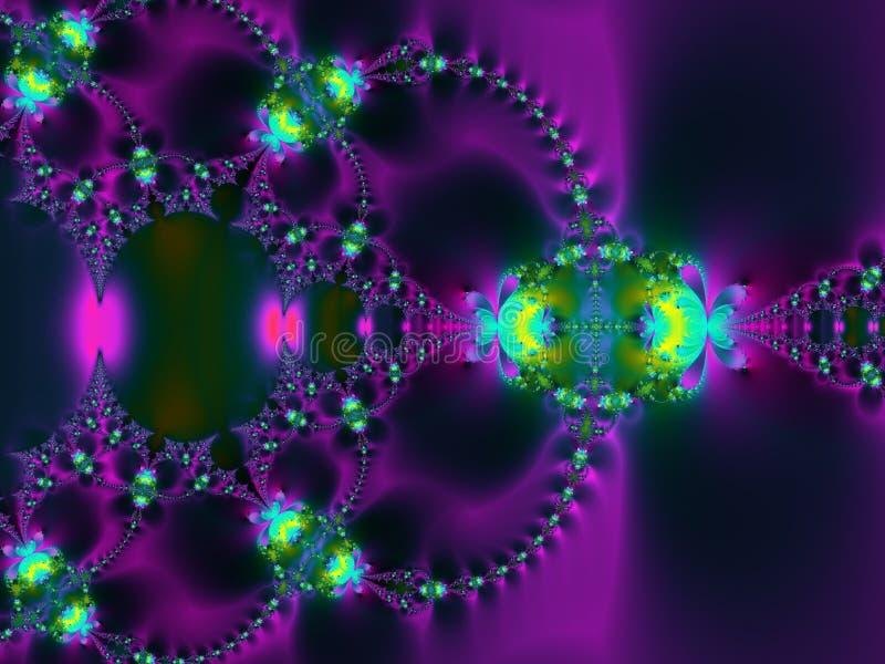 purpur swirl för bakgrund vektor illustrationer