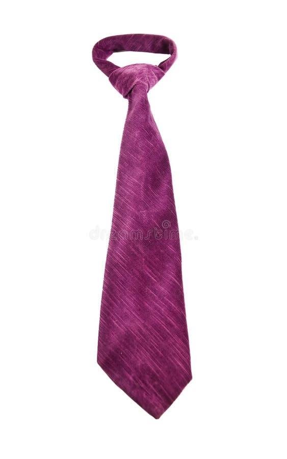 purpur tie royaltyfri bild