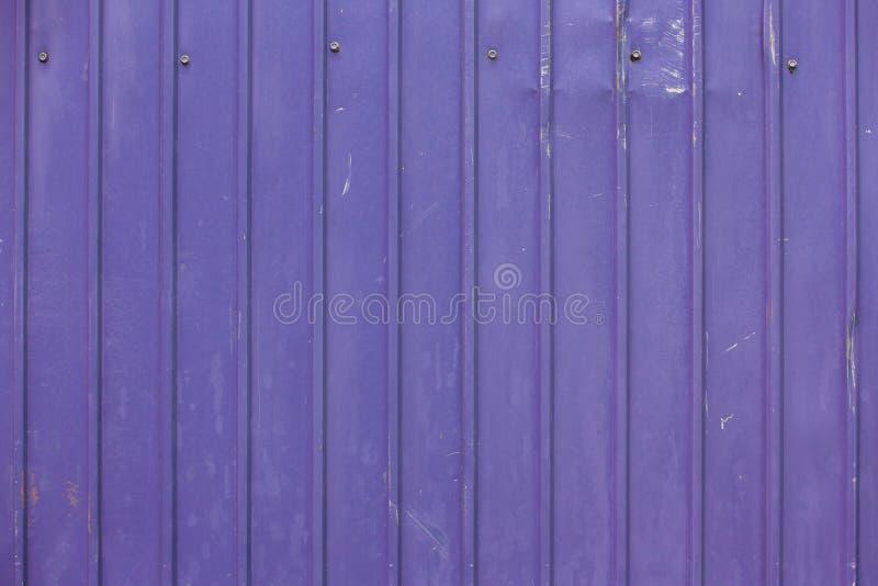 Purpura metalu prześcieradła tekstury ścienny tło fotografia royalty free