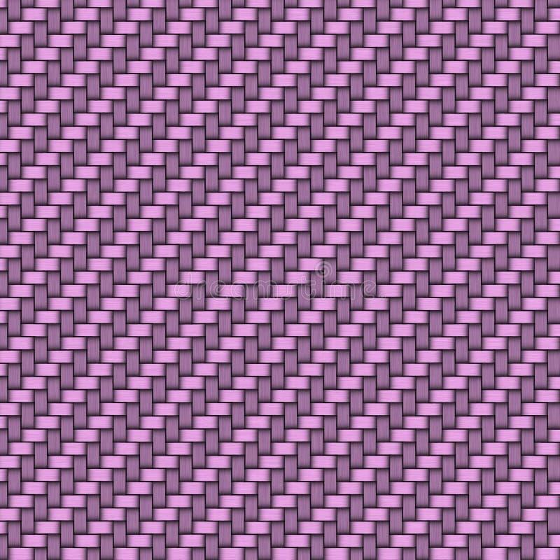 Purpurfärgad bakgrund vävd modell stock illustrationer