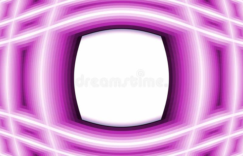 Purpurfärgad bakgrund Vitmedelbilder vektor illustrationer