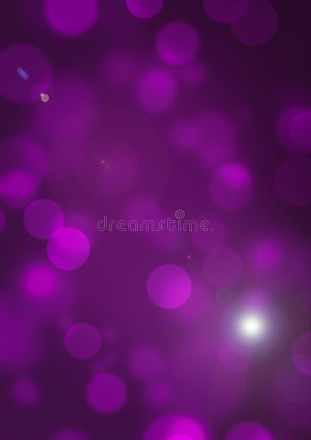 Purpurfärgad bakgrundsbokehsuddighet 1 royaltyfria bilder