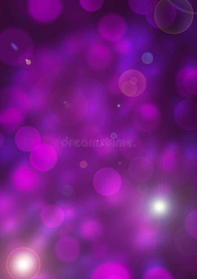 Purpurfärgad bakgrundsbokehsuddighet 2 arkivfoto