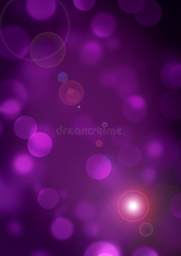 Purpurfärgad bakgrundsbokehsuddighet 4 fotografering för bildbyråer