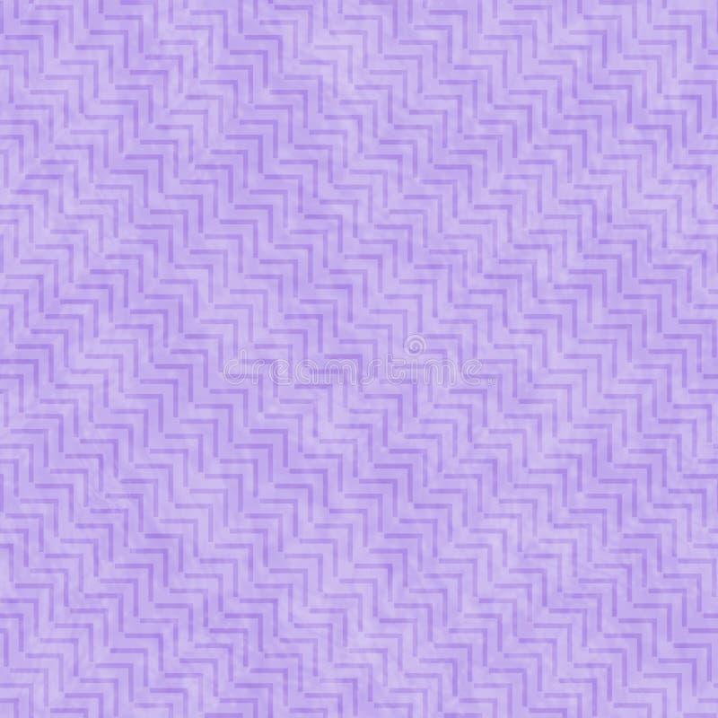 Purpurfärgad för tegelplattamodell för geometrisk design bakgrund för repetition royaltyfri illustrationer
