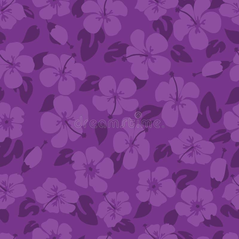 Purpurfärgad hibiskusblommamodell fotografering för bildbyråer