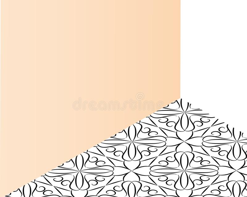 Purpurf?rgad rosa bakgrund f?r abstrakt suddig mintkaramell Mjuk ljus lutningbakgrund med st?llet f?r text Vektorillustration f?r vektor illustrationer