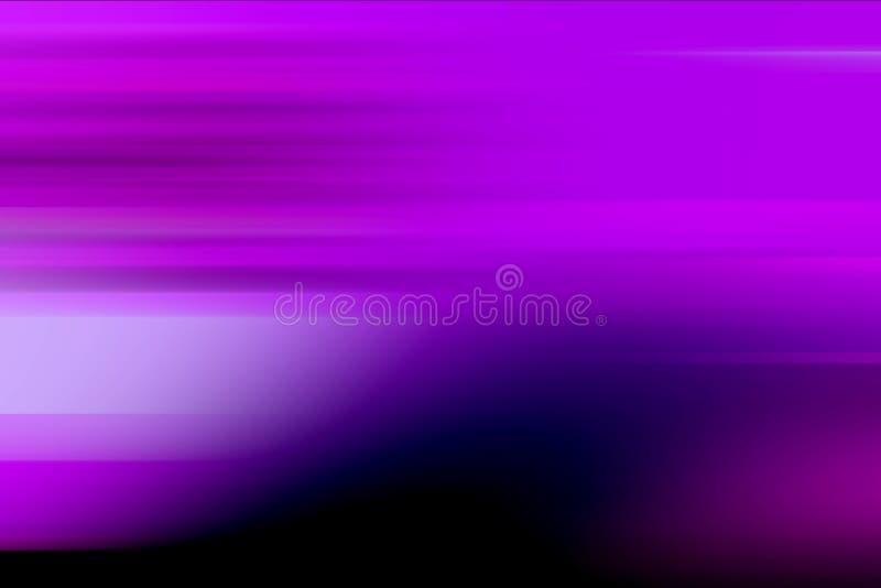 Purpurfärgad suddig skuggad bakgrundstapet för rörelse livlig färgvektorillustration royaltyfri illustrationer