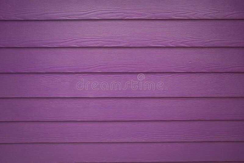 Purpurfärgad verklig Wood texturbakgrund arkivfoto