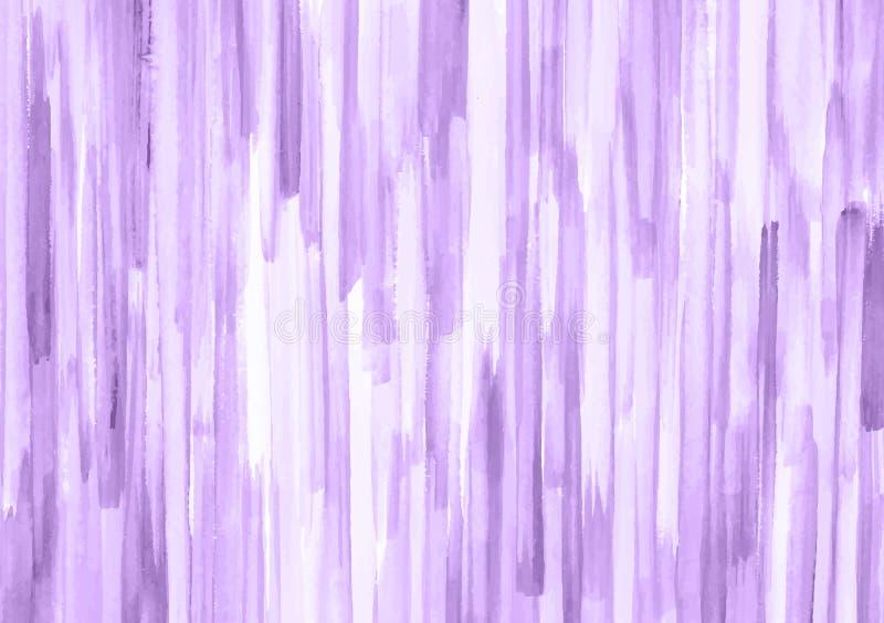 Purpurfärgade remsor av borsteslaglängder vektor illustrationer