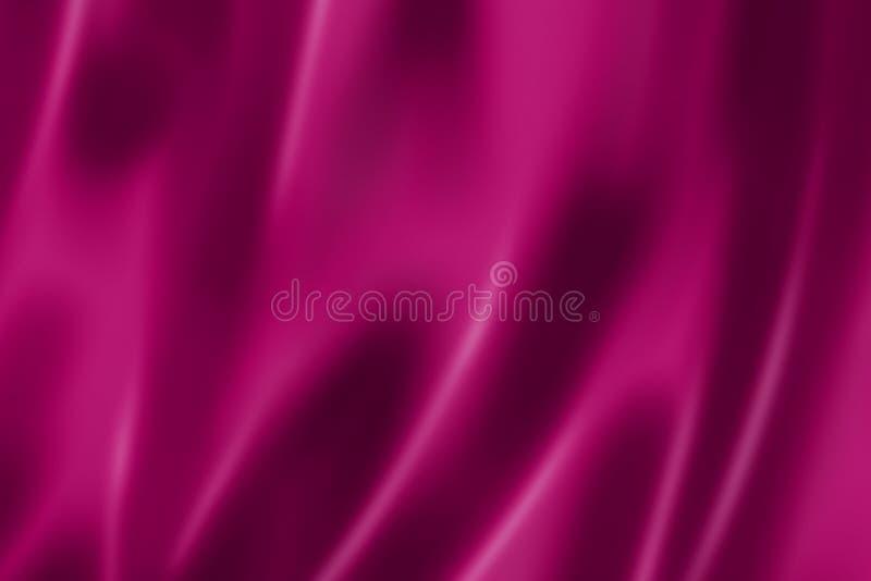 Purpurowa atłasowa tekstura royalty ilustracja