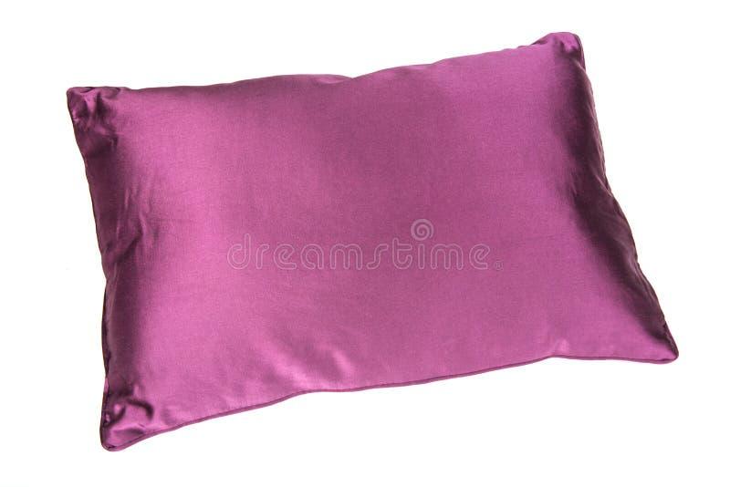 Purpurowa poduszka obrazy royalty free