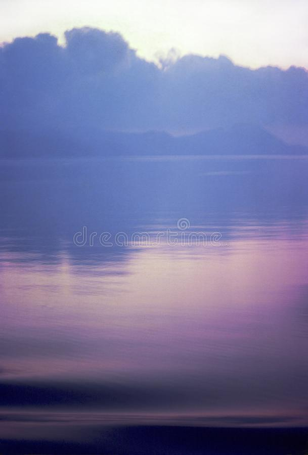 Purpurowa wyspa II obrazy royalty free