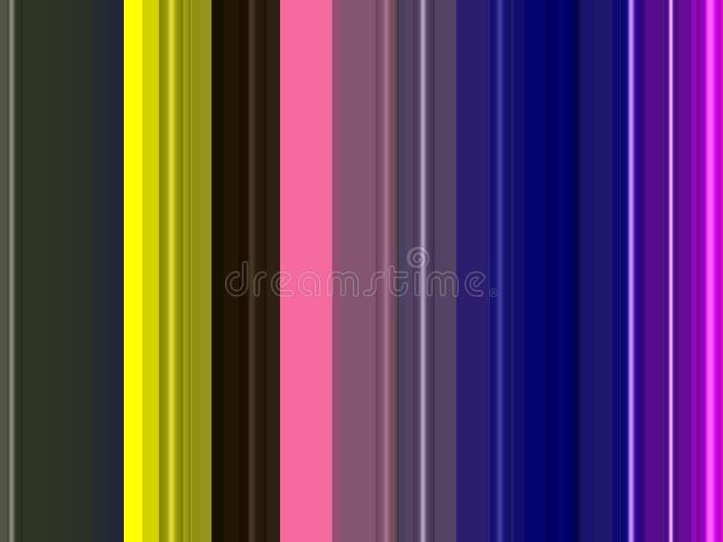 Purpurowe błękitne żółte kółkowe linie, tło, grafika, abstrakcjonistyczny tło i tekstura, ilustracja wektor