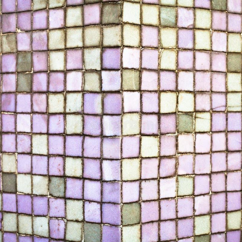 Purpurowe płytki zdjęcie stock