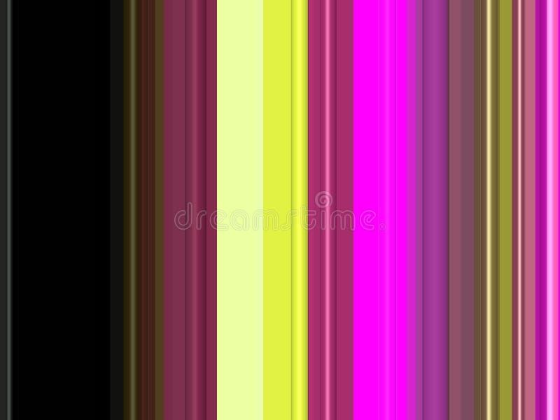Purpurowego żółtego złota czerni rzadkopłynne linie, tło, grafika, abstrakcjonistyczny tło i tekstura, ilustracji