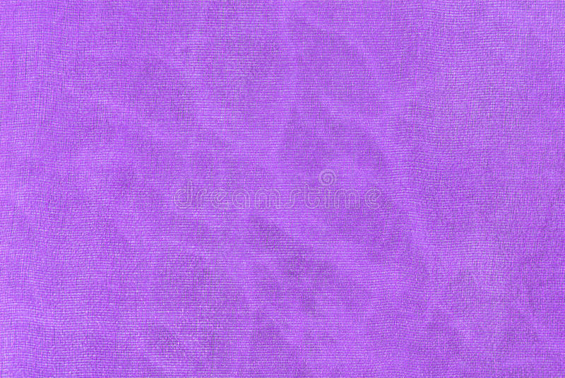 Purpurowego organza tkaniny makro- tekstura obraz stock
