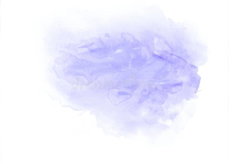 Purpurowej akwareli bieg gradientowa plama Ja ` s dobry tło dla valentines, listy miłośni, romantyczne wiadomości, urodzinowy con royalty ilustracja