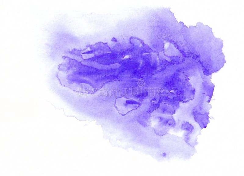 Purpurowej akwareli bieg gradientowa plama Piękny abstrakcjonistyczny tło dla projektantów, Ups, zaproszenia, pocztówki royalty ilustracja
