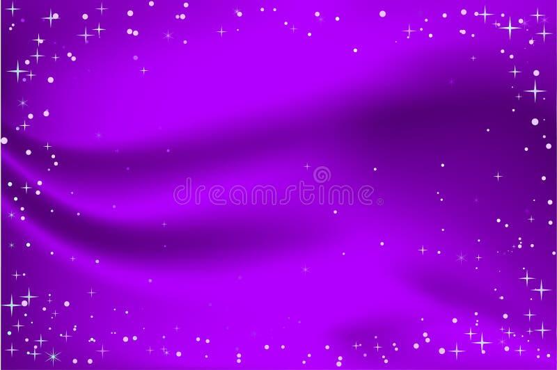 purpurowi tło boże narodzenia ilustracji