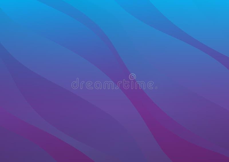 Purpurowy Abstrakcjonistyczny tło, tekstura, tapeta, powierzchnia, sztandar, błękit pokrywy projekt, ulotka układu szablon, tło,  ilustracja wektor