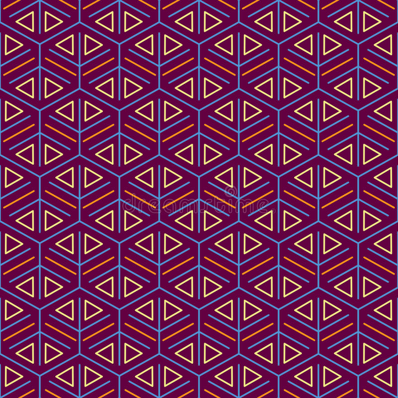 Purpurowy Bezszwowy wzór z siatki teksturą ilustracji