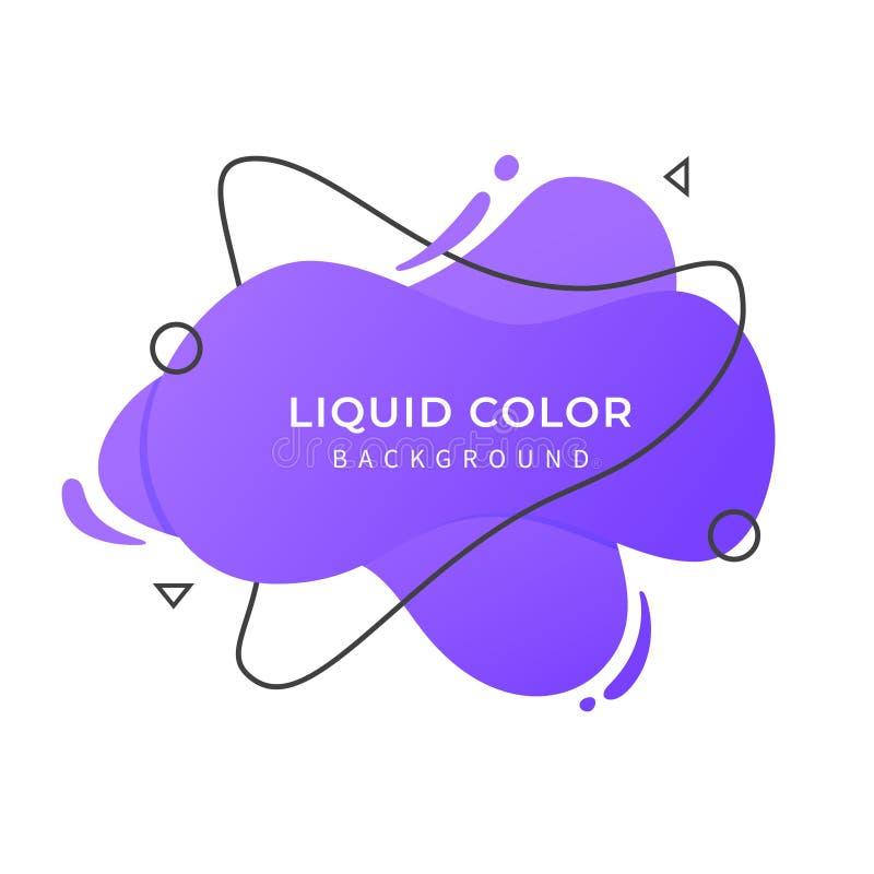 Purpurowy Ciekły koloru tło zdjęcia royalty free