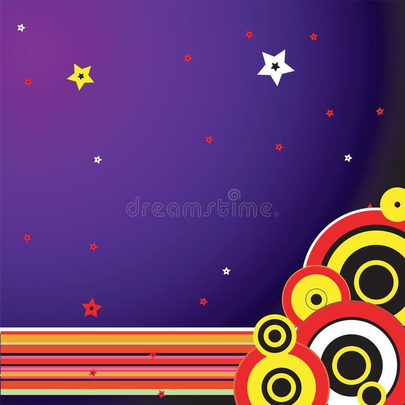 purpurowy cyrkowych royalty ilustracja