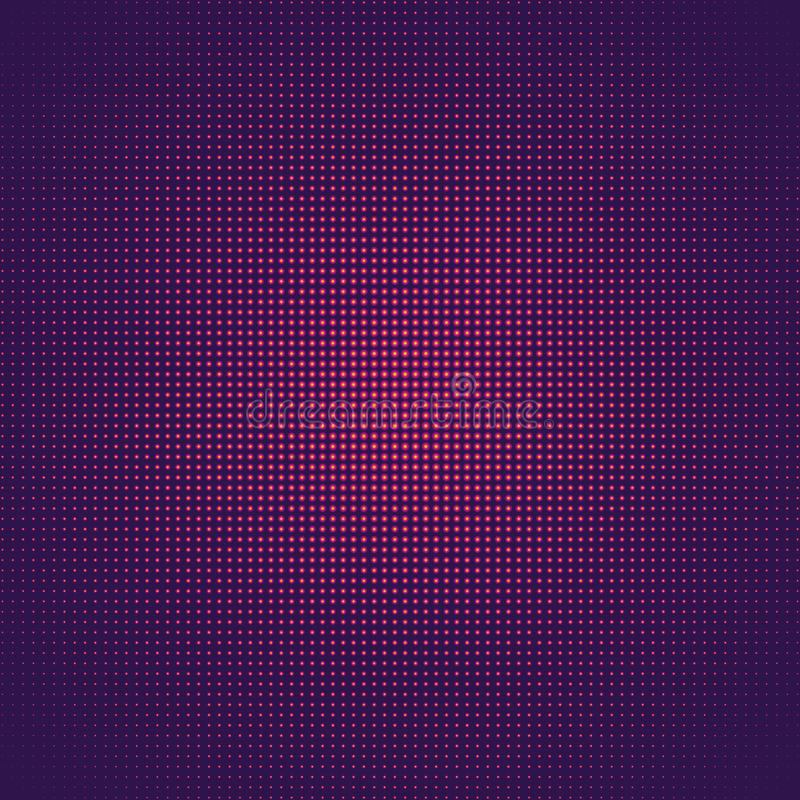Purpurowy fuschia abstrakta światła tło, Wektorowej tekstury muzyki plakatowy przyjęcie ilustracji
