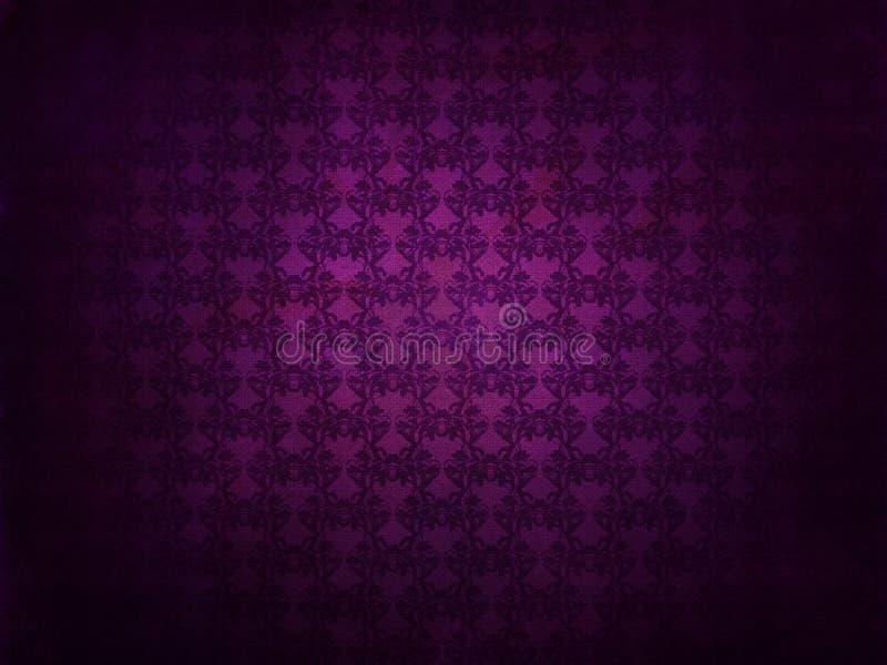 Purpurowy grunge wzoru tło ilustracji