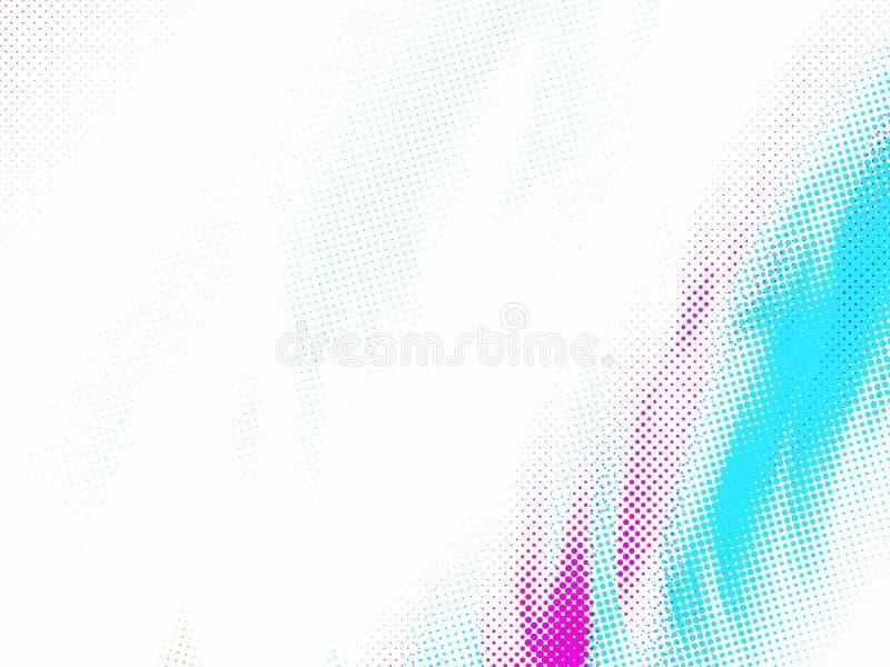 Purpurowy i turkusowy tło zdjęcia stock