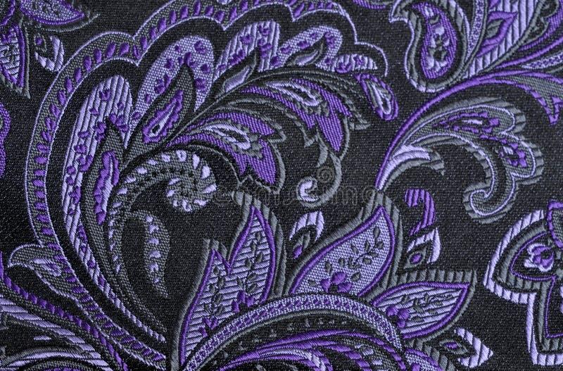 Purpurowy Paisley zdjęcie stock