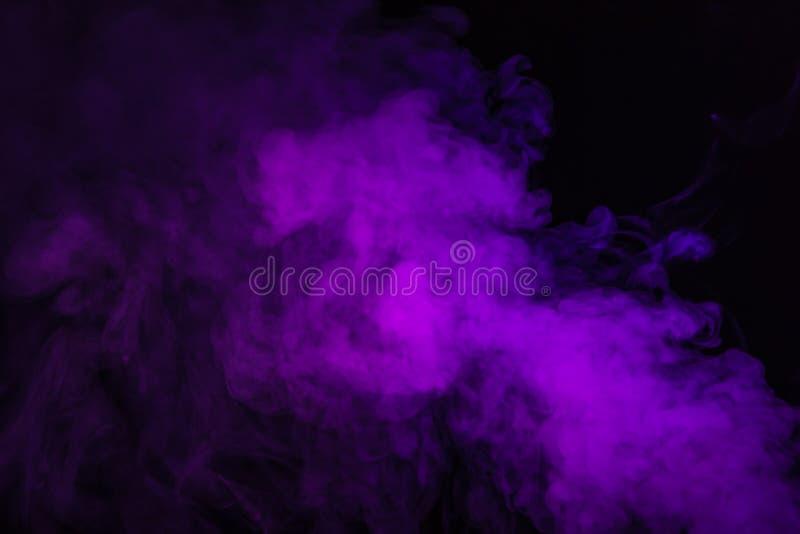 purpurowy sprawy duchowe dym zdjęcia stock
