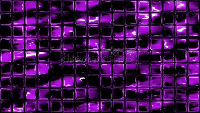 Purpurowy szkło obciosuje bezszwowego tło ilustracji