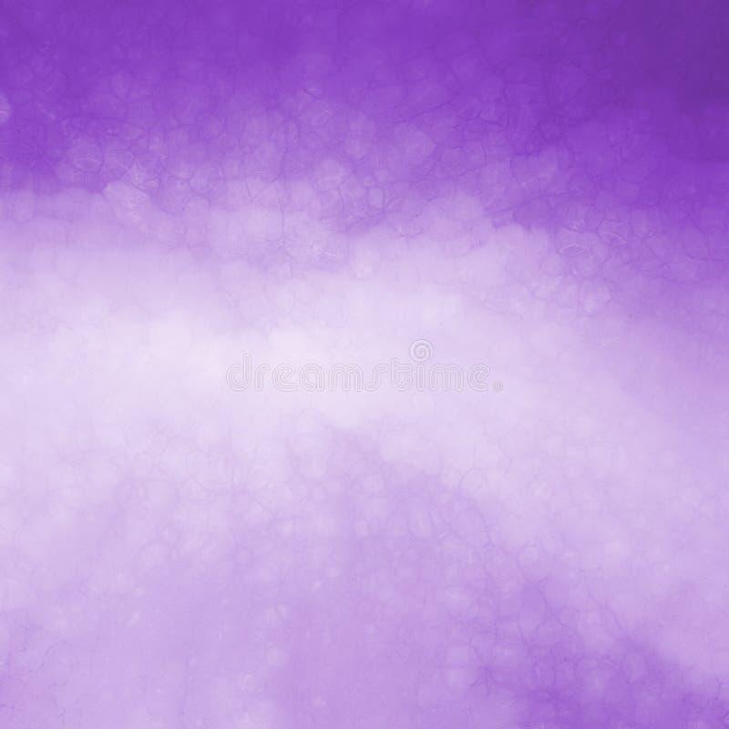 Purpurowy tło z światłem - purpury ześrodkowywają szklany tekstura projekt i trzaskali zdjęcia stock