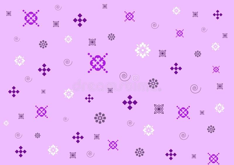 Purpurowy unikalny tło projektujący wzór ilustracja wektor