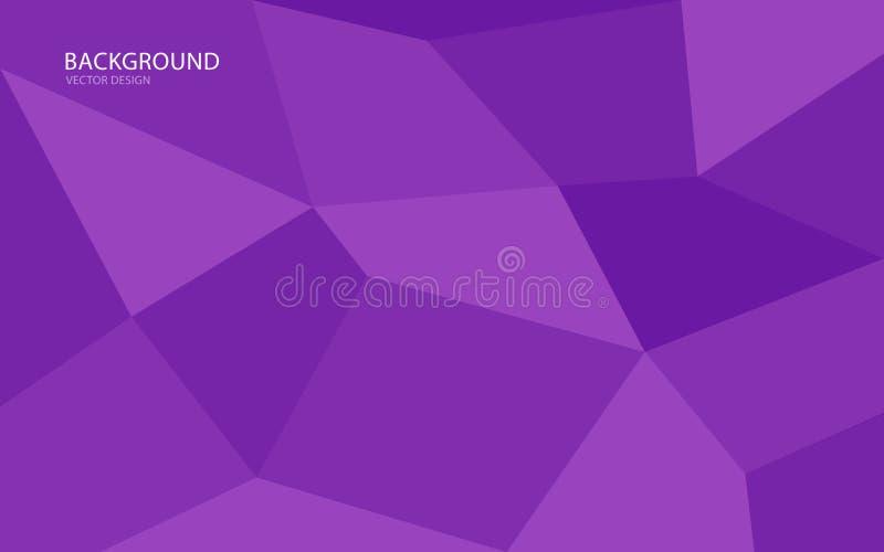 Purpurrote abstrakte Hintergrundvektorillustration wand Abbildung im Vektor abdeckung karte Beschaffenheit tapete Flieger brosch? stock abbildung