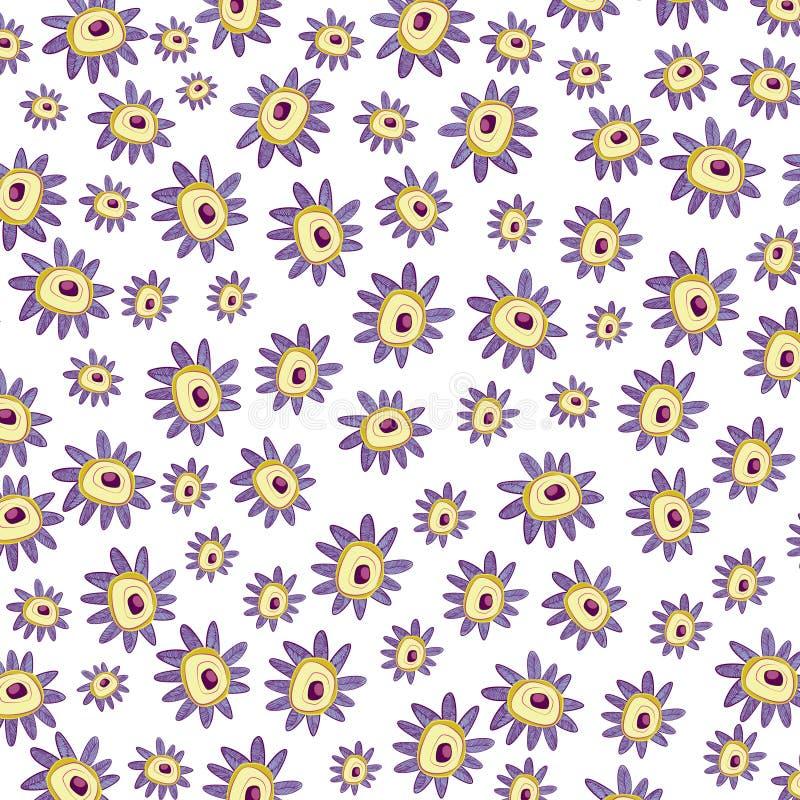 Purpurrote Blume kopierter Hintergrund lizenzfreie stockbilder
