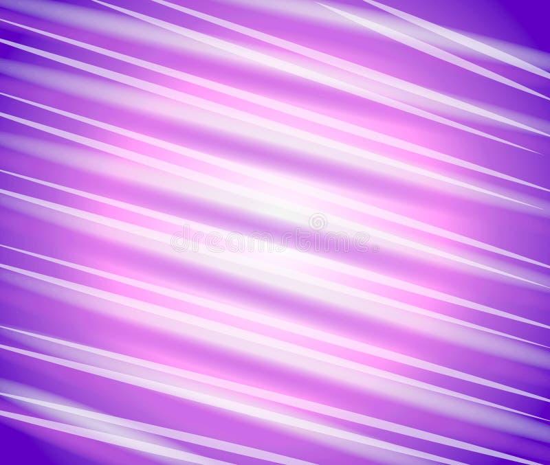 Purpurrote diagonale Zeilen Muster stock abbildung