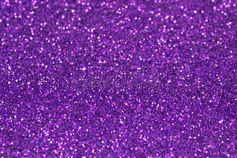 Purpurrote Funkeln-Hintergrund-Beschaffenheit lizenzfreies stockfoto