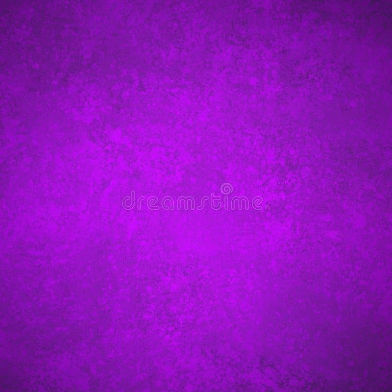 Purpurrote Hintergrundbeschaffenheit mit schwarzem Weinleseschmutz in der alten Papierillustration, alter eleganter heller Hinter stock abbildung